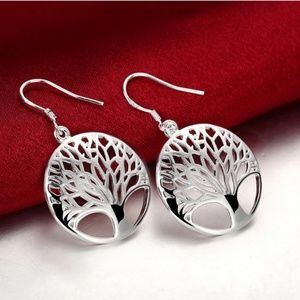 Jewelry - Sterling silver plated gorgeous earings